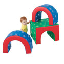 Tunnel Trilogy, Soft Play Toys | Baby Jogger | Fitness Toys | ABaby.com