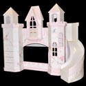 Polton Castle Bunk Bed, Childrens Beds | Girls Twin Bed | ABaby.com
