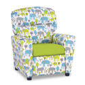 Trunk Tales Kids Recliner, Kids Upholstered Chairs | Personalized Toddler Couch | Rocker | Recliner