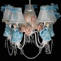 Going To The Ball Chandelier, Chandeliers for Kids Rooms & Nursery | Mini Chandelier | aBaby.com