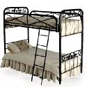 Western Bunk Bed, Toddler Iron Bunk Beds | Kids Bunk Beds | ABaby.com