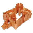 Medieval Castle Play Set with Figures