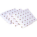 Chocolate Dots Porta Crib Sheets, Porta Crib Sheets | Mini Crib Sheet Set | ABaby.com