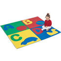 ABC Crawly Mat, Nursery Rugs | Baby Area Rugs | Baby Room Rugs | ABaby.com