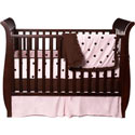 Espresso Dots Crib Bedding Set, Boy Crib Bedding | Baby Crib Bedding For Boys | ABaby.com