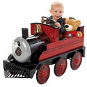 Lil' Red Train, Toddler Bikes | Childrens Pedal Cars | ABaby.com