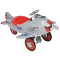 Silver Pursuit Plane,