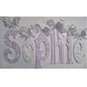 Sophie's Glittler and Sparkle Lavender Letters, Girls Wall Letters | Kids Wall Letters For Nursery | ABaby.com