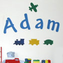 Custom Andy Letters, ABC Nursery Decor | ABC Alphabets Wall Decals | ABaby.com
