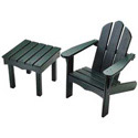 Childs Adirondack Chair and End Table, Outdoor Toys | Kids Outdoor Play Sets | ABaby.com