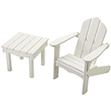 Childs Adirondack Chair and End Table
