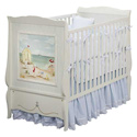 At the Beach Crib, Panel Crib | Modern Panel Crib | ABaby.com