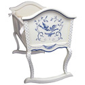 Bluebird Cradle, Wooden Bassinet | Antique Cradles | ABaby.com
