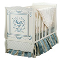 Bluebird Crib, Butterfly Themed Cribs | Butterfly Beds | ABaby.com