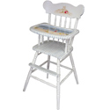 At the Beach High Chair, Nautical Themed Nursery | Nautical Bedding | ABaby.com