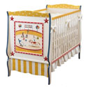 Circus Fun Baby Crib, Custom Cribs | Rustic Cribs | Unique Cribs | ABaby.com