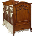 French Beauty Crib, Panel Crib | Modern Panel Crib | ABaby.com