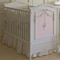 French Flower Basket Crib, Panel Crib | Modern Panel Crib | ABaby.com