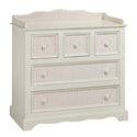 Grace Gingham Changer, Dresser And Changing Table Combo | Nursery Dressers | ABaby.com