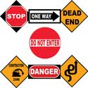 Road Sign Wall Arts, Nursery Wall Art | Baby | Wall Art For Kids | ABaby.com