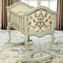 Cottage Verona Cradle, Wooden Bassinet | Antique Cradles | ABaby.com
