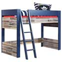 Capt'n Sharky Loft Bed, Toddler Bunk Beds | Kids Loft Beds | ABaby.com