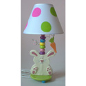 Bunny Rabbit Lamp, Bunnies Nursery Decor | Bunnies Wall Decals | ABaby.com