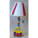 Yellow Car Lamp, Train And Cars Themed Nursery | Train Bedding | ABaby.com