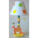 Dinosaur Ceramic Lamp, Dinosaurs Themed Nursery | Dinosaurs Bedding | ABaby.com