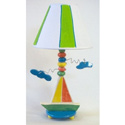 Sailboat Lamp, Nautical Themed Nursery | Nautical Bedding | ABaby.com