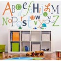 Alphabet Fun Wall Decal, Personalized Nursery Decor | Baby Room Decor | ABaby.com