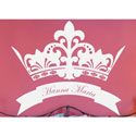 Royal Crown Wall Decal, Princess Nursery Decor | Princess Wall Decals | ABaby.com