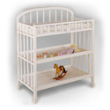 Classic Changer, Wicker Changing Tables | Wood Changing Tables | ABaby.com