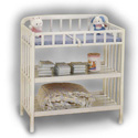 Contemporary Changer, Wicker Changing Tables | Wood Changing Tables | ABaby.com