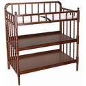Jenny Lind Changer, Wicker Changing Tables | Wood Changing Tables | ABaby.com