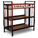 Sleigh Changer, Wicker Changing Tables | Wood Changing Tables | ABaby.com