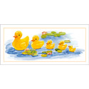 All In A Row Wall Art, Ducky Artwork | Ducky Wall Art | ABaby.com