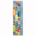 All-Star Boy Growth Chart, Sports Themed Nursery | Boys Sports Bedding | ABaby.com