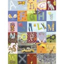 Alphabet Seek Stretched Art, Nursery Wall Art | Baby | Wall Art For Kids | ABaby.com