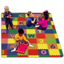 Playful Foam Play Mat, Nursery Rugs | Baby Area Rugs | Baby Room Rugs | ABaby.com