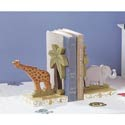 Animal Alphabet Bookend, Baby Bookends | Childrens Bookends | Bookends For Kids | ABaby.com