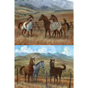 Appaloosa Series Wall Art, Wild West, Western, Cowboy Themed Furniture, Decor For Childrens Rooms and Baby's Nursery.