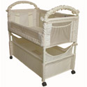 Clear View Co-Sleeper, Baby Bassinets, Moses Baskets, Co-Sleeper, Baby Cradles, Baby Bassinet Bedding.