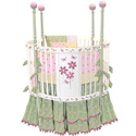 Blooming Flower Round Crib, Round Cribs for Babies | Circular Crib | Unique | Nursery