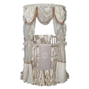 Moscato  Round Canopy Crib, Baby Canopy Crib | Nursery | Crown Canopy for Cribs | aBaby.com