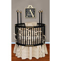 Spindle Splendor Round Crib, Round Cribs for Babies | Circular Crib | Unique | Nursery