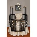 Cream Dream Round Crib Bedding