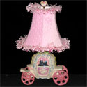 Going To The Ball Lamp, Princess Nursery Decor | Princess Wall Decals | ABaby.com