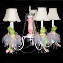 Ballerina Frog Chandelier, Nursery Lighting | Kids Floor Lamps | ABaby.com