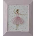 Ballerina Artwork, Hand Painted Artwork | Hand-Painted Wall Art | ABaby.com